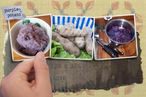 What to do with purple potatoes